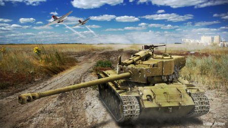 World of Tanks - тест патча 1.0