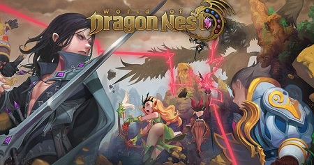 World of Dragon Nest - сервер для м...